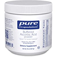 Pure Encapsulations - Buffered Ascorbic Acid Powder - Vitamin C Supplement for Sensitive...