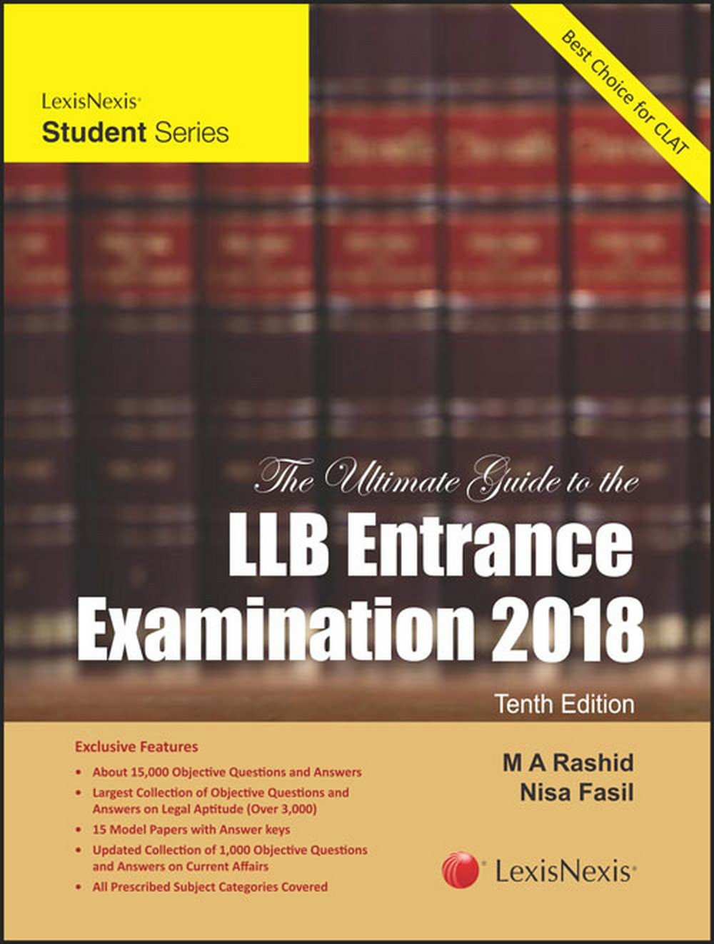 Buy The Ultimate Guide to the LLB Entrance Examination 2018 Book Online at  Low Prices in India | The Ultimate Guide to the LLB Entrance Examination  2018 ...