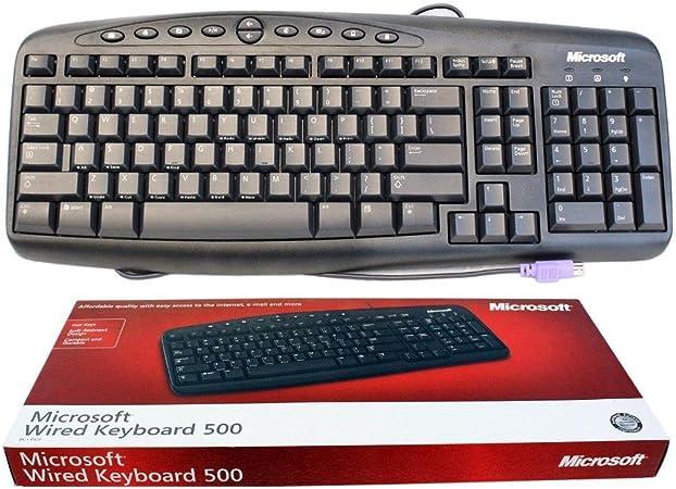 Microsoft RT2300 Teclado de Escritorio con Cable 500- X801383 ...