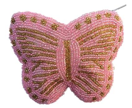 Amazon.com: e.a @ mercado diseño de mariposa hecho a mano ...