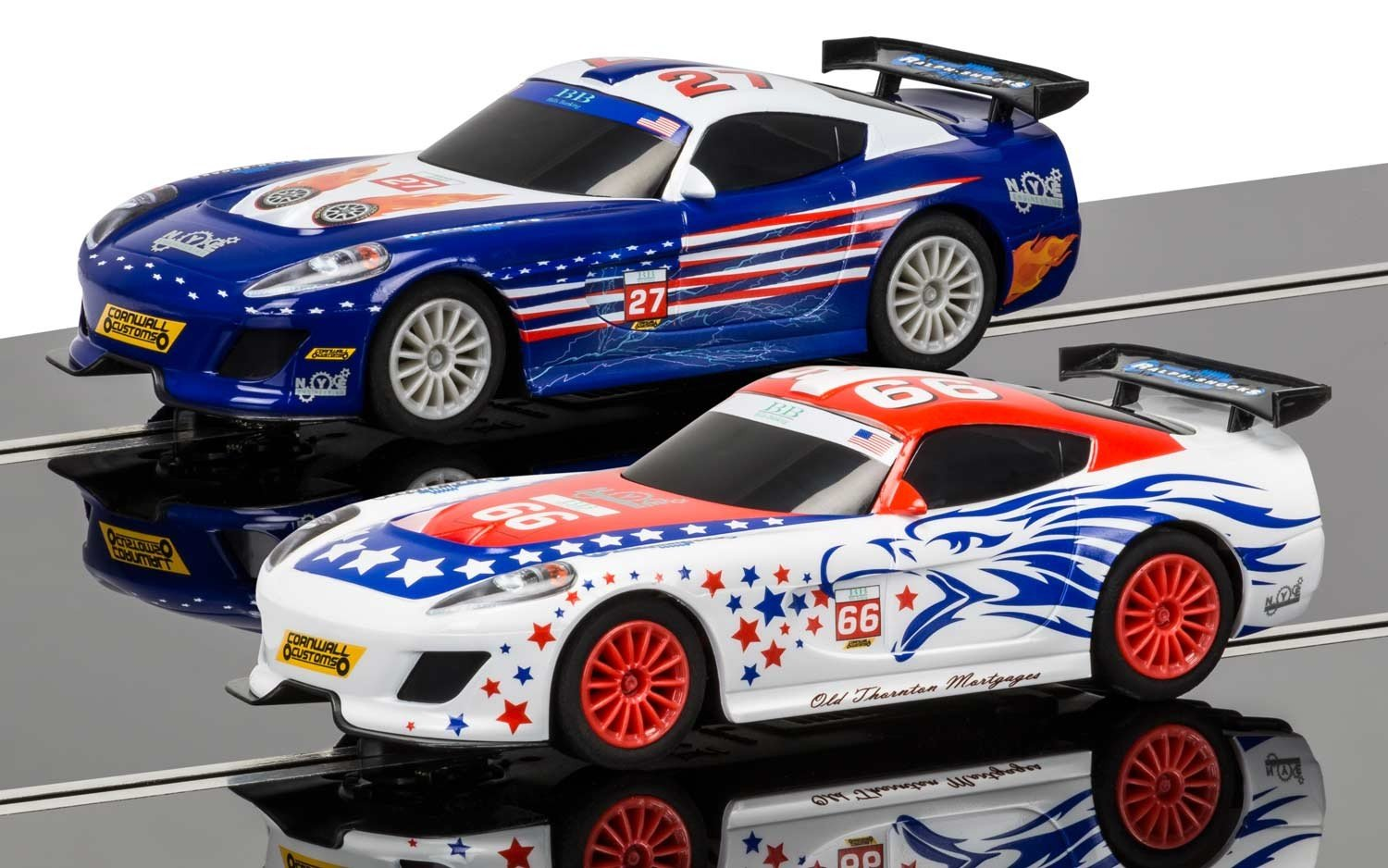 Scalextric America GT 1:32 Slot Car Race Track C1361T Playset by Scalextric (Image #3)