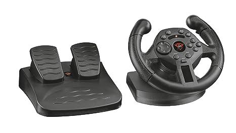 6b23988c25d3 Trust Gaming 21684 GXT 570 Volante da Corsa con Feedback a Vibrazione per  PS3 e PC