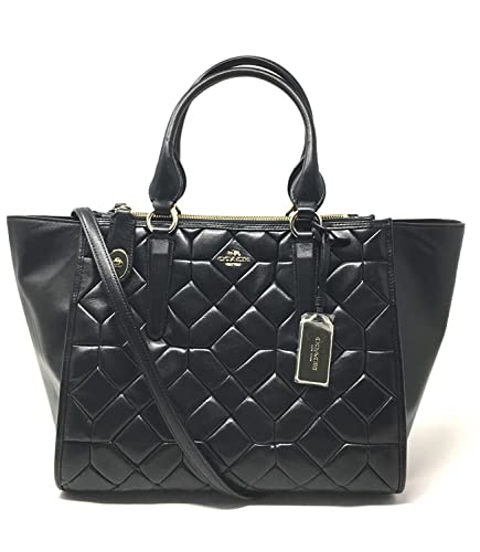 Coach CROSBY carryall in canyon quilt leather style 37486  595.00 ... 64c52e76fe