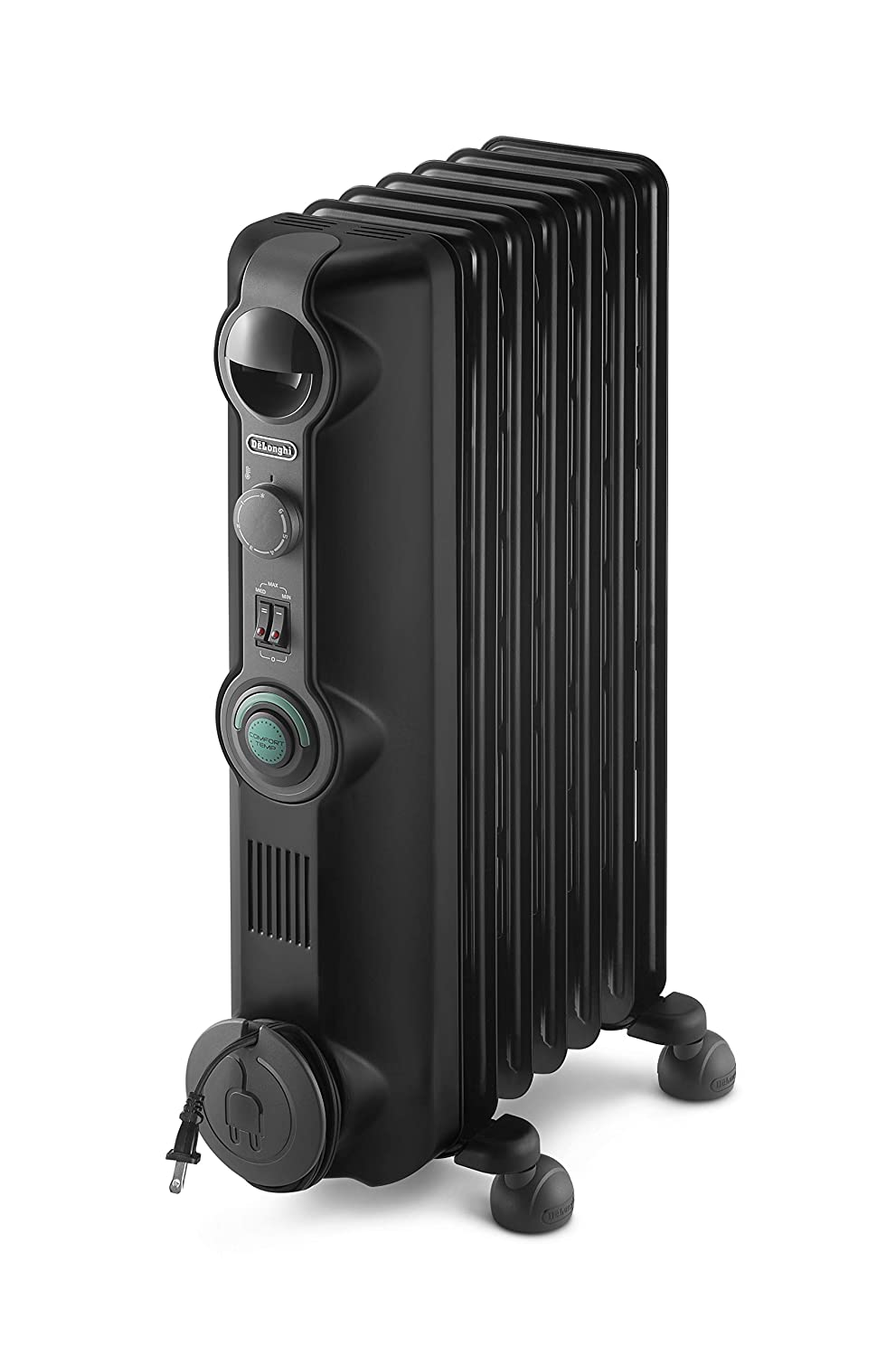 DeLonghi Comfort Temp Full Room Radiant Heater Black