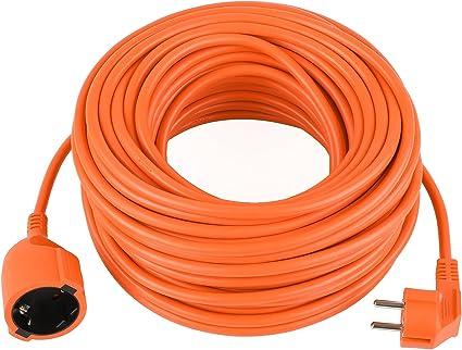 DECKEY Cable alargador eléctrico para jardín 10M IP20 Alargador ...