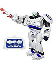 SGILE Robot Juguete Gigante, Programación Inteligente Sensación Robots para niños, Control Remoto con La