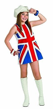 Kleid englische flagge