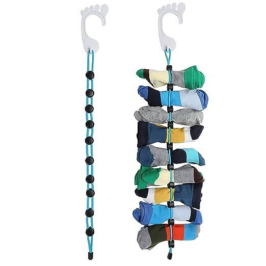 UPXIANG - Calcetines organizadores de calcetines, fácil de sujetar ...