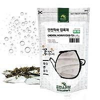[ Korean Medicinal Herb Bath Tea ] Oriental Wormwood Bath Tea Bags, 10g x 8 Bags