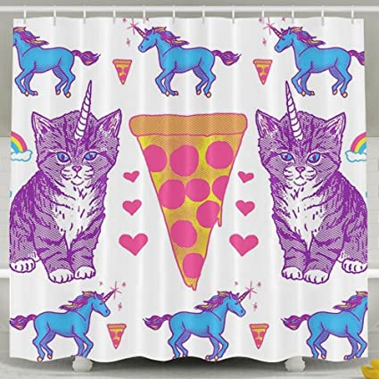 Amazon TingsCity Fashion Printing Home Life Unicorn Cat Pizza
