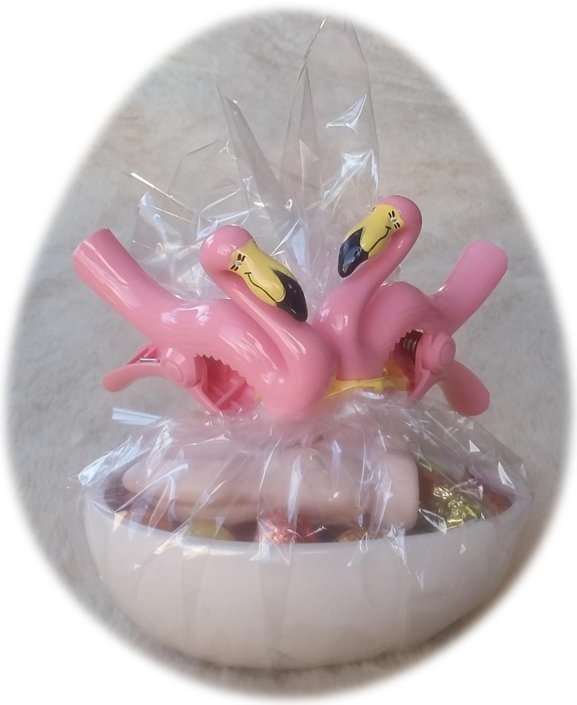 Boca Clips Badetuch-Klammern Flamingo