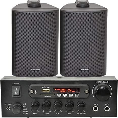 wireless amplifier and speakers