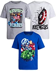 Marvel Avengers Boys 3 Pack T-Shirts