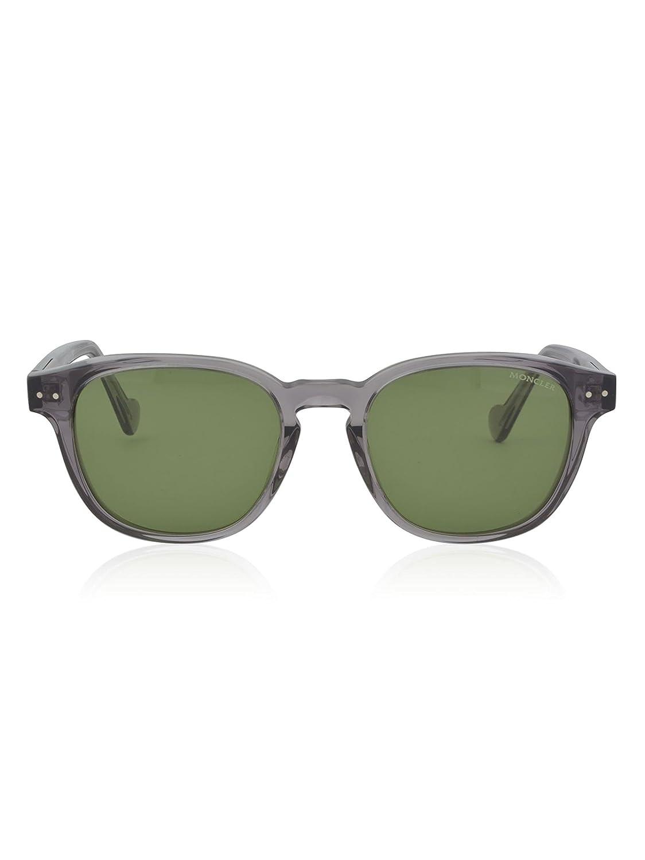Moncler Classic Keyhole Sunglasses in Crystal Grey ML0010 20N 51 Grey (Grigio)