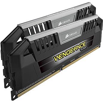 Corsair Cmz16gx3m2a1600c10 Vengeance Ddr3 1600 Mhz Desktop Memory Black 16gb 2x8gb Amazon Sg Electronics
