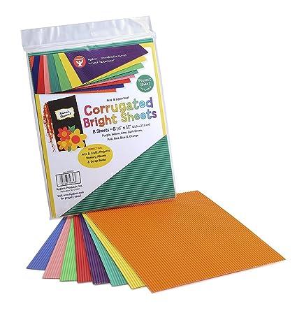 Amazon.com: Corrugated Bright Sheets 8-1/2\