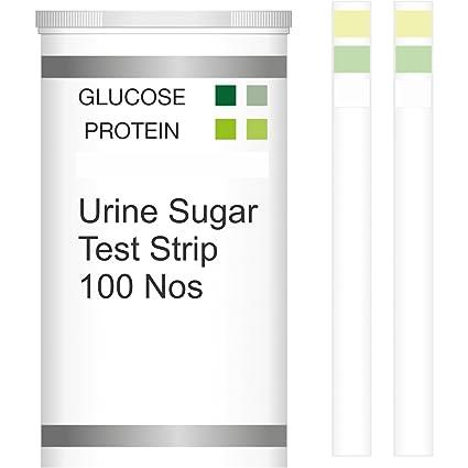 Sugar level urine testing strips
