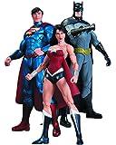DC Comics New 52 Batman Wonder Woman Superman 3 Pack