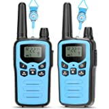 5 Miles Long Range Walkie Talkies for Kids, Toys Gift for 3-12 Year Old Boys Girls, 22 Channels 2 Way Radio Toy Children…