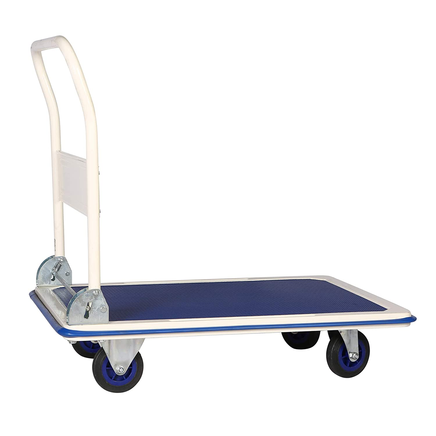 Platform Trolley 300 kg Parcel Trolley Brake Transport Trolley Foldable Unbekannt