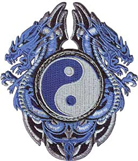 C/&D Visionary P-3514 Dragons Purple /& Blue Winged Dragon Patch