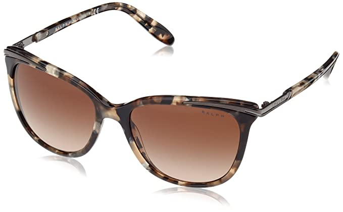 RALPH Ralph Damen Sonnenbrille » RA5203«, schwarz, 1090T5 - schwarz/braun