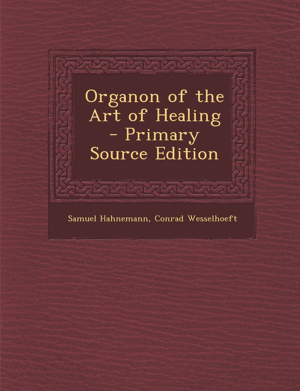 Organon of the Art of Healing pdf epub
