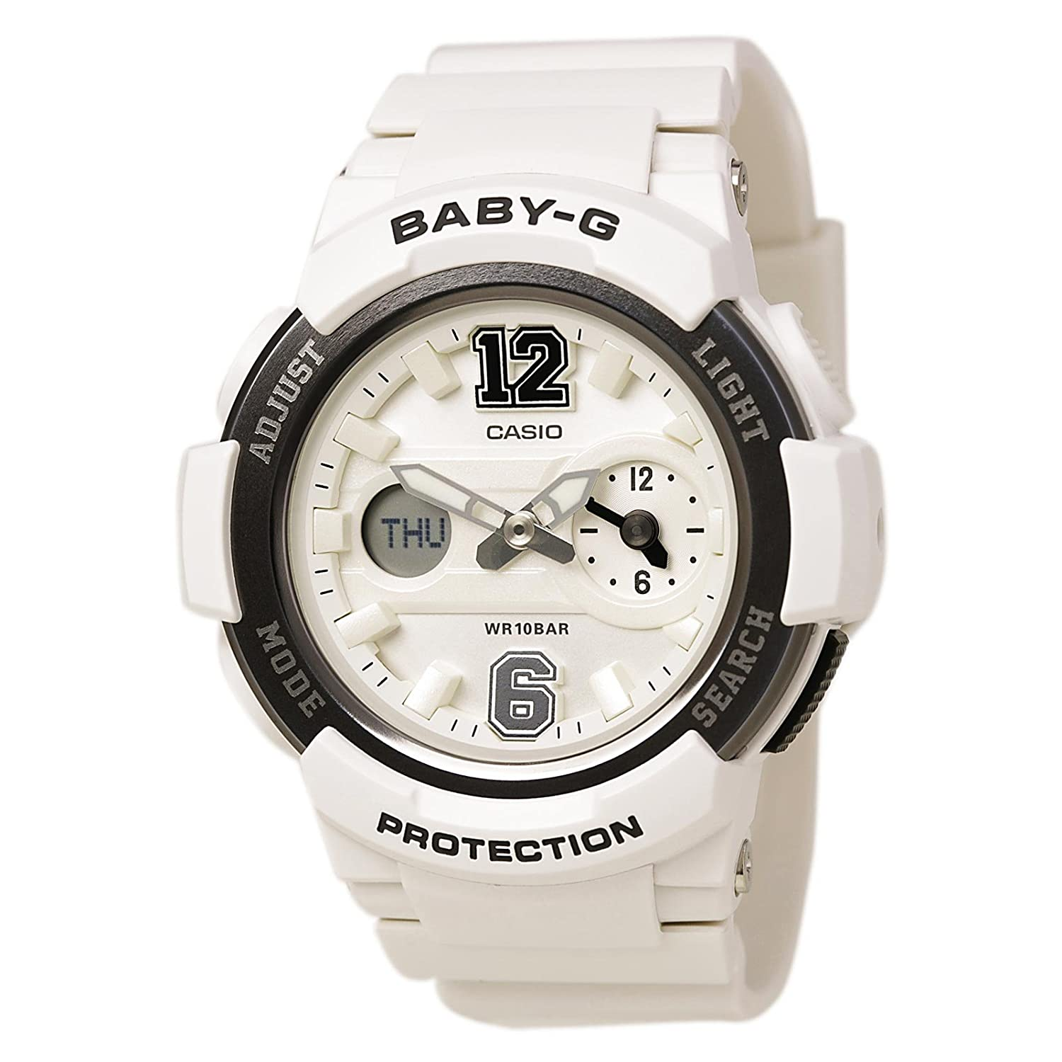 G-Shock Women s BGA-210-7B1CR White Watch
