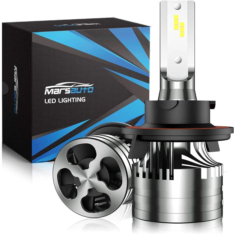 Marsauto H13 LED Headlight Bulbs