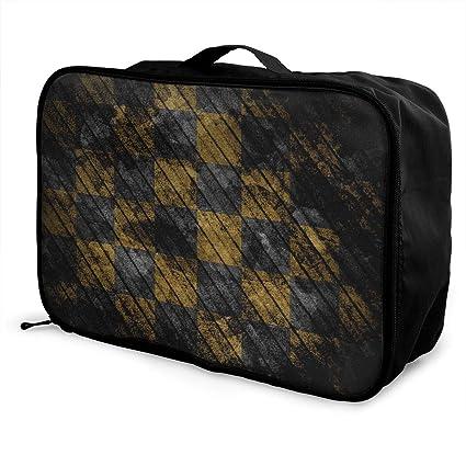a60cefa417b2 Amazon.com: Mintslove Fashion Portable Luggage Bag Abstract ...