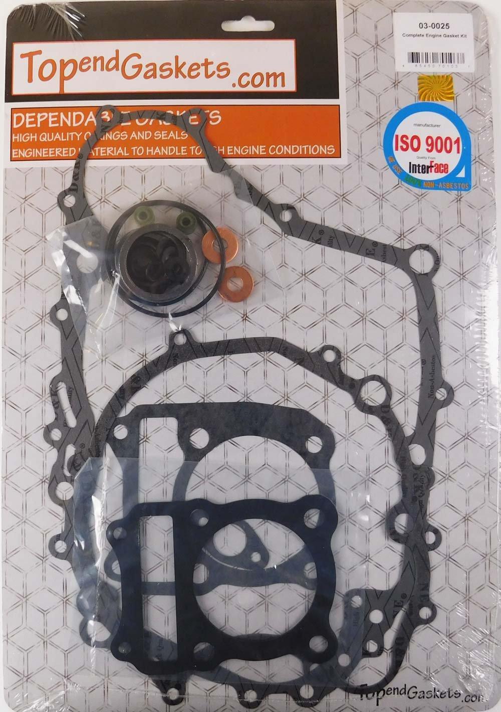 Complete Gasket Kit Set Suzuki LT230S LT230 S 85-88 Head, base, case, valve seal TopEndGaskets