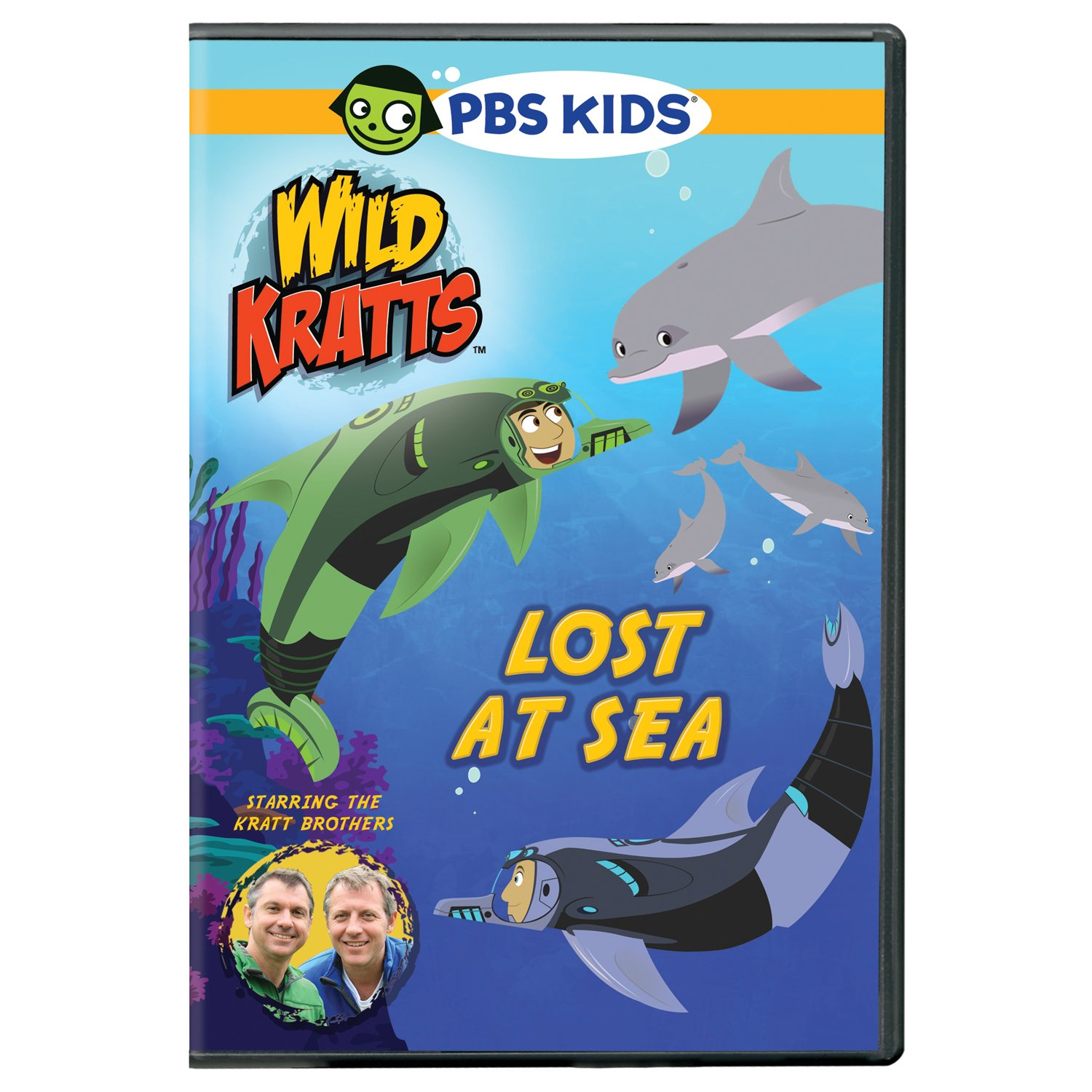 DVD : Wild Kratts: Lost At Sea (winter 2013) (DVD)