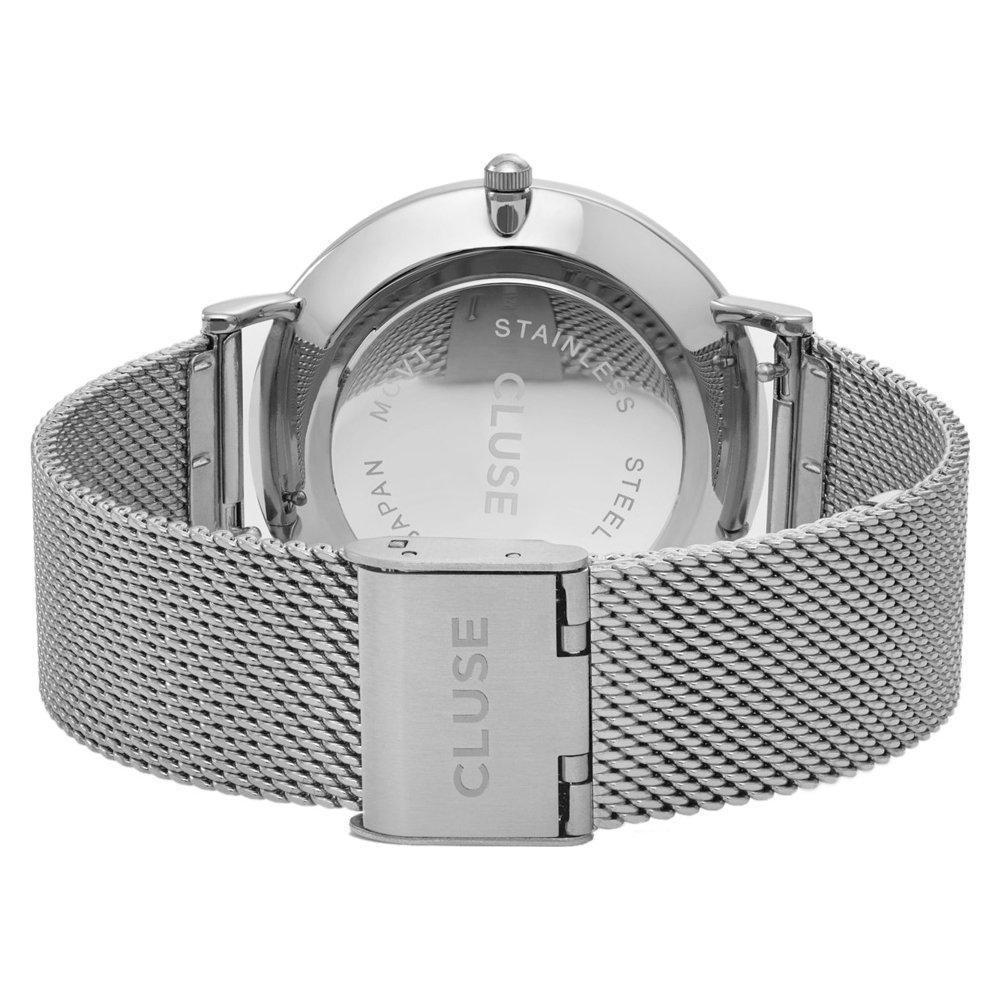 Cluse Reloj Analógico Automático para Mujer con Correa de Cuero - CL18106: Cluse: Amazon.es: Relojes