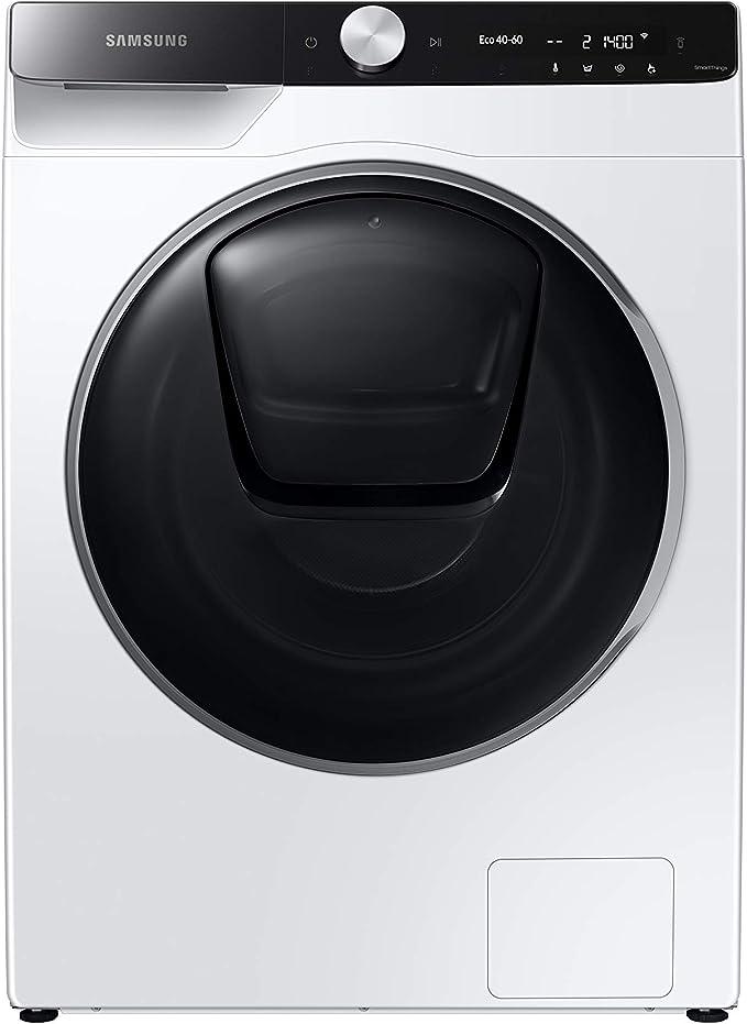 Samsung elettrodomestici ww90t986ase lavatrice 9 kg quickdrive, ai control, 1600 giri, bianco a+++ WW90T986ASE/S3