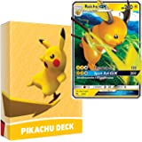 Pokemon Pikachu Deck   Ready to Play 60 Card Starter Deck   Includes Raichu GX   Perfect for Beginners Raichu Theme Deck   wi