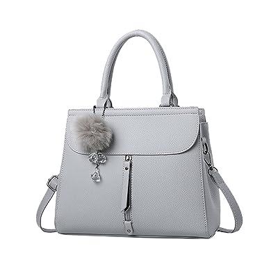 Menschwear Womens PU Bag Cross-body Bag Hand Handle Bags Shoulder Bags 28cm