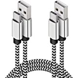 USB C Cable, 10ft 2Pack Type C Charger Compatible with Samsung Galaxy S10, Deegotech Long Nylon Braided Phone Fast Charger Co