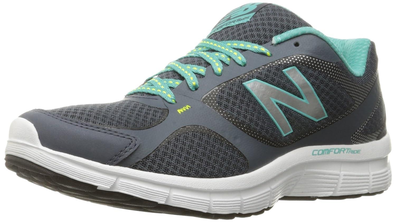 New Balance Women's 543v1 Comfort Ride Running Shoe B0195INR2A 9 B(M) US|Thunder/Aquarius