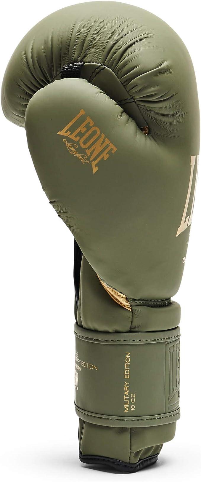 XL Vert Gants MMA Unisexe Leone 1947 Gants MMA Military Ed Adulte