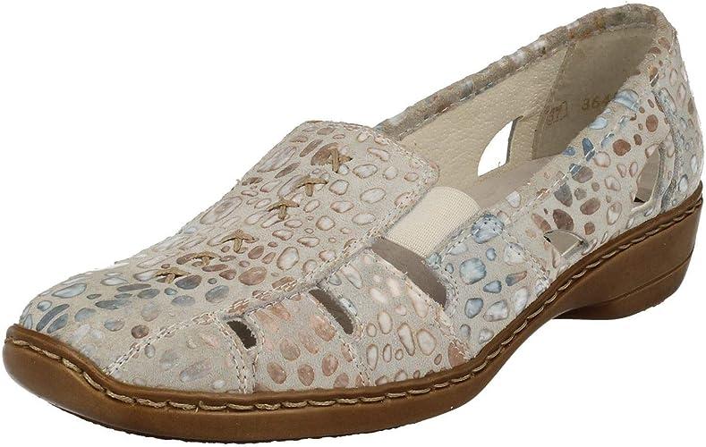 Rieker Denise 41385 Shoe 39 EU 80.Off WHT RAIN: