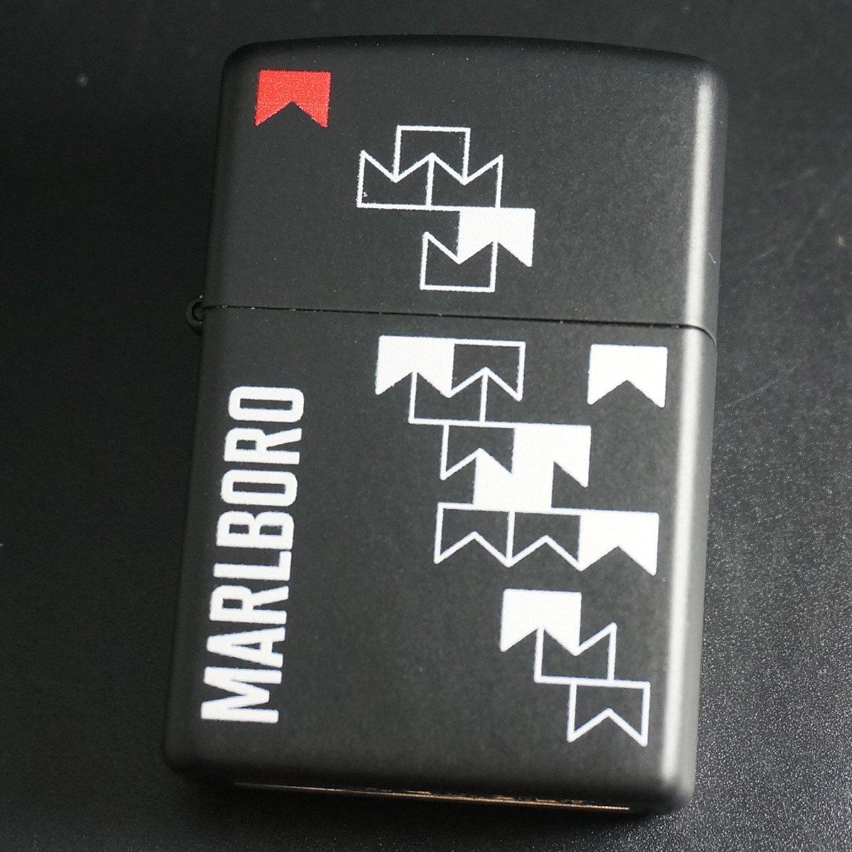 zippo Marlboro 黒マット 2012年製造 B07226HPDJ