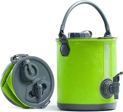 Zusammenklappbarer tragbarer Wasserbehälter im Freien zum Angeln Camping