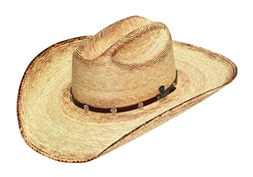 d7cb980411775 Ariat Men s Fired Palm Straw Hat at Amazon Men s Clothing store