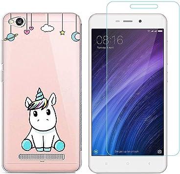 Funda Xiaomi Redmi 4A Unicornio Suave TPU Silicona Protector ...