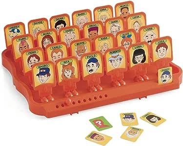 Juego Guess Who - ¿Quién es quién Habilidad I Mesa para ninõs y Adultos - Naranjo: Amazon.es: Juguetes y juegos
