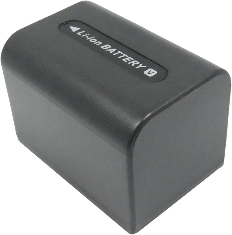 7.4v 1500mAh Rechargeable Battery NP-FV70 Replacement for Sony DCR-DVD650E DCR-SR78E DCR-DVD308E DCR-HC48E