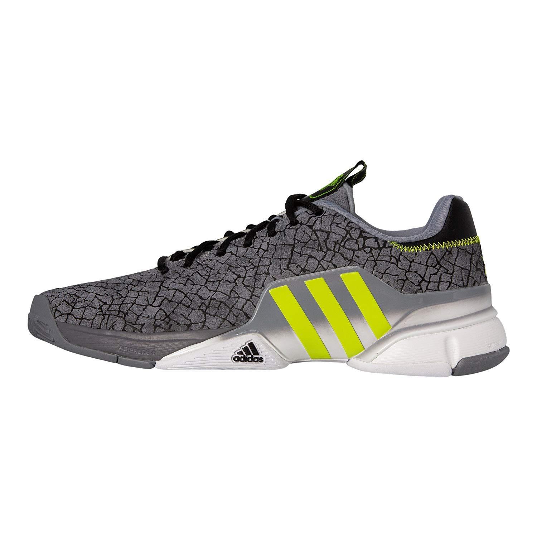 brand new b29c2 dec7b Amazon.com   adidas Men s Barricade 2016 Boost Tennis Shoes, Grey Hannibal,  13.5 D(M) US   Tennis   Racquet Sports