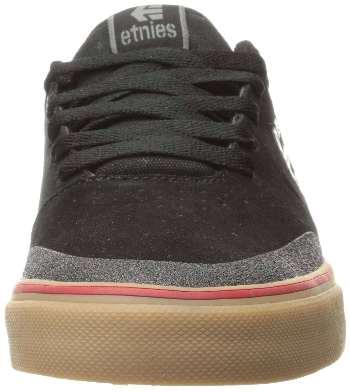 Mens Marana Vulc Skateboarding Shoes, Black/Gum/Grey, D(M) US Etnies