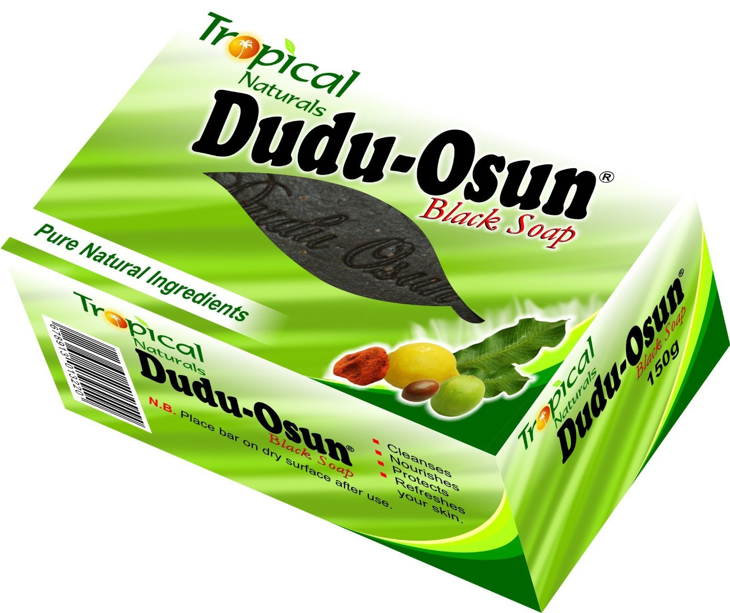 (Pack Of 3) African Black Soap | DUDU-OSUN