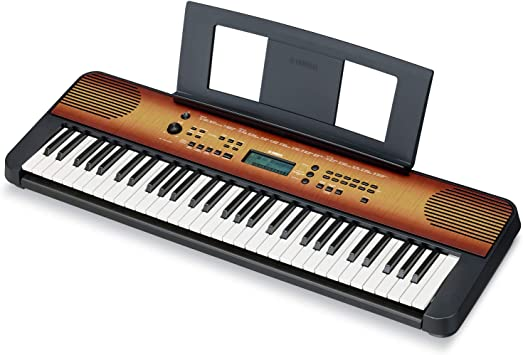 Yamaha PSRE360 61-Key Touch Sensitive Portable Keyboard with ...